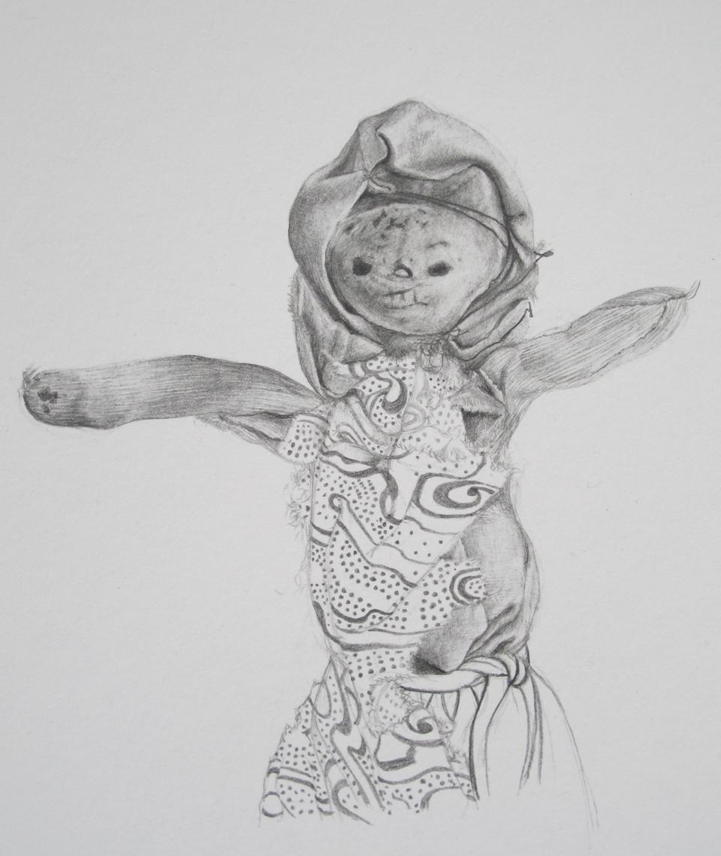 EIGHT BLOCKS OR A FIELD (Bone Doll II) detail, 2013
