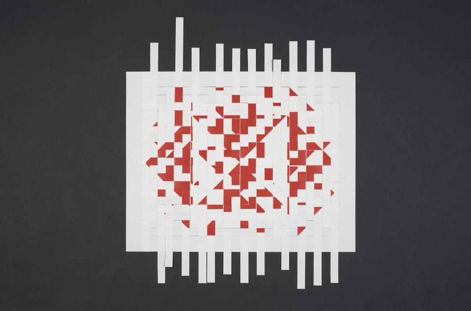 Fourteenth Gift (Undone Red) detail 2013