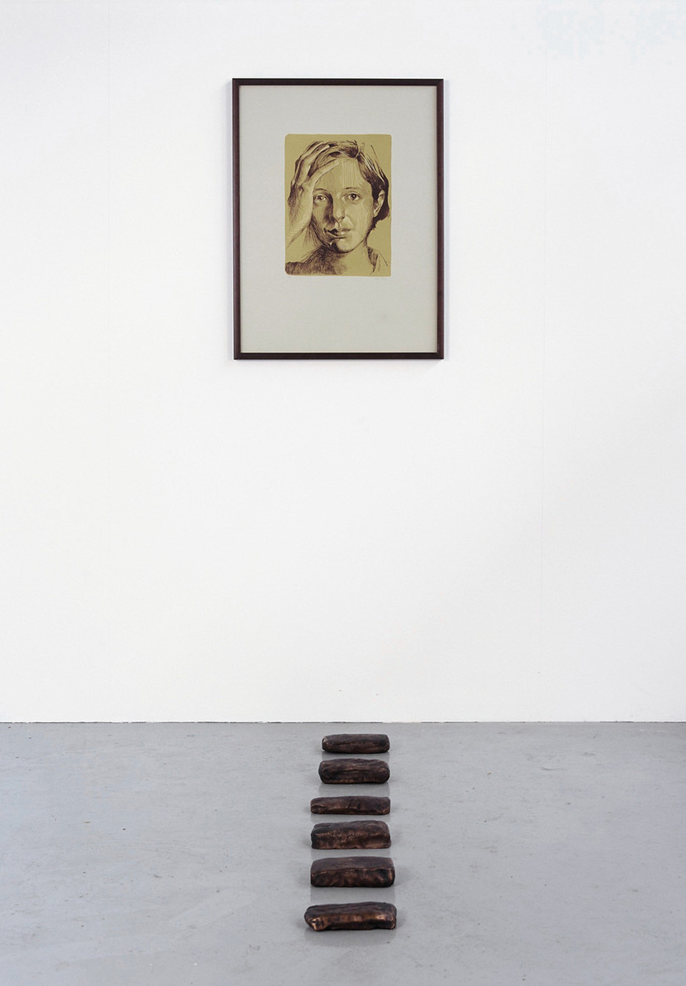 I Want to Function in the Present Time (Self-Portrait II and Bricks)