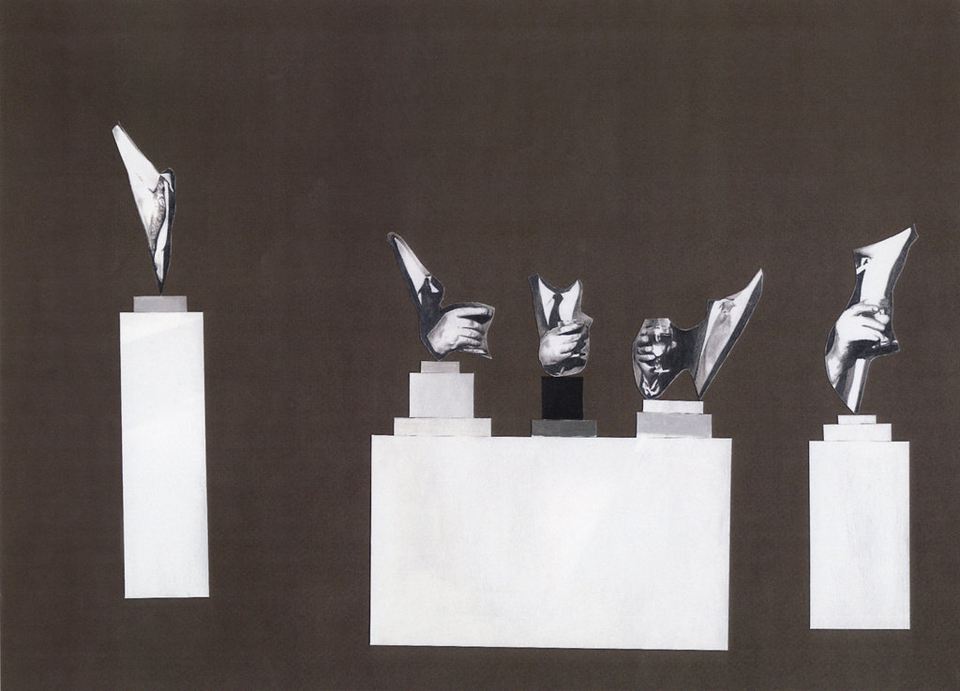Let the Traffic Police Wear Black Cotton Gloves (front), 2004