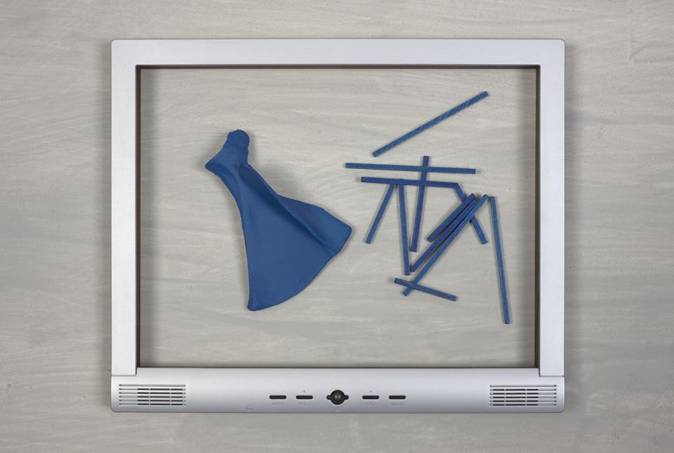 Personal Care Frame (sticks), 2013