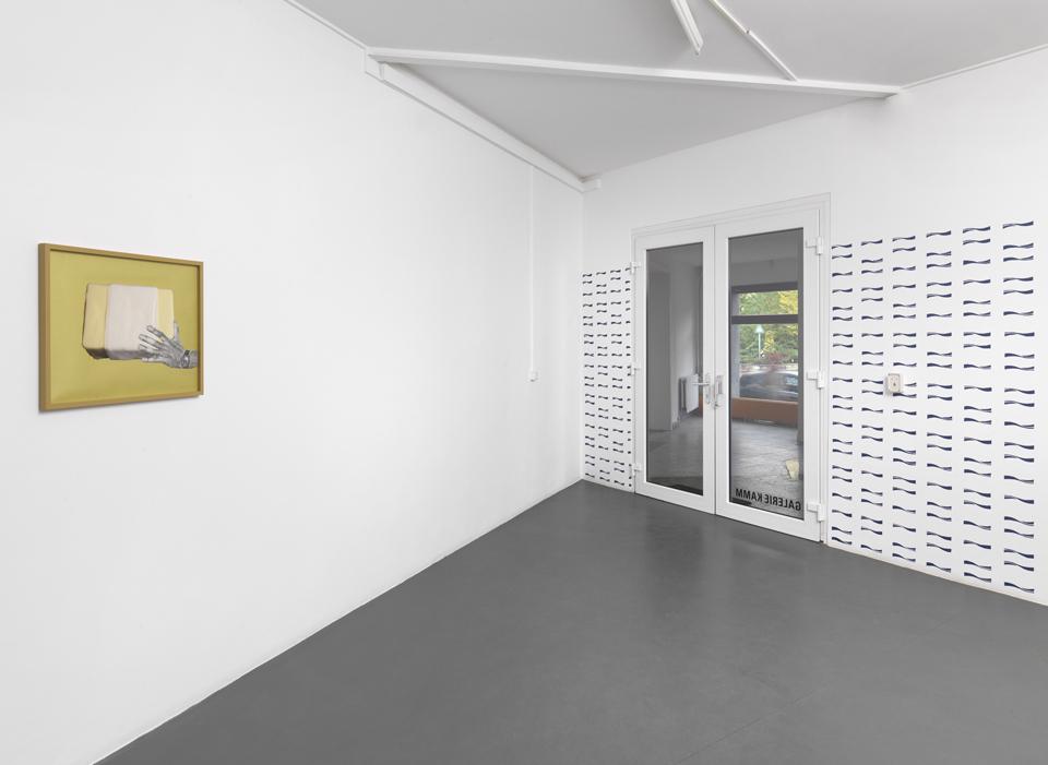 Ranziges Fett, installation view 1 Galerie Kamm, 2011