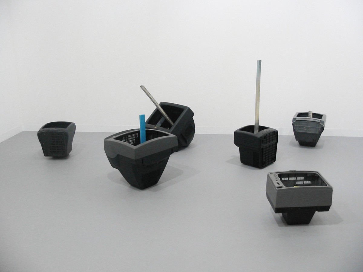 Waiting in 1972; what about 2007? installation view 4, Art Basel 2007