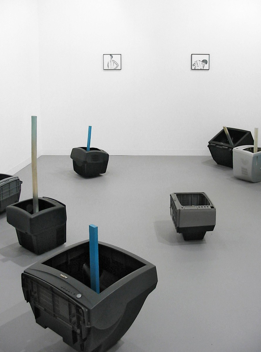 Waiting in 1972; what about 2007? installation view 8, Art Basel 2007