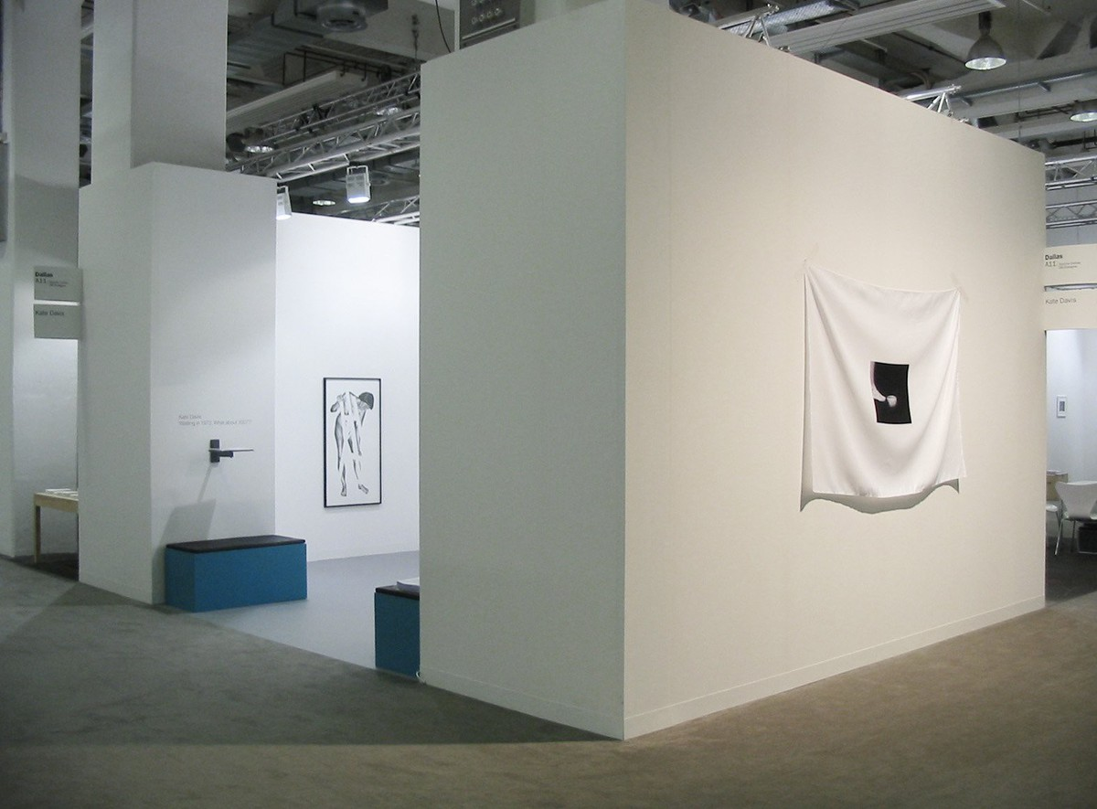 Waiting in 1972; what about 2007? installation view 9, Art Basel 2007