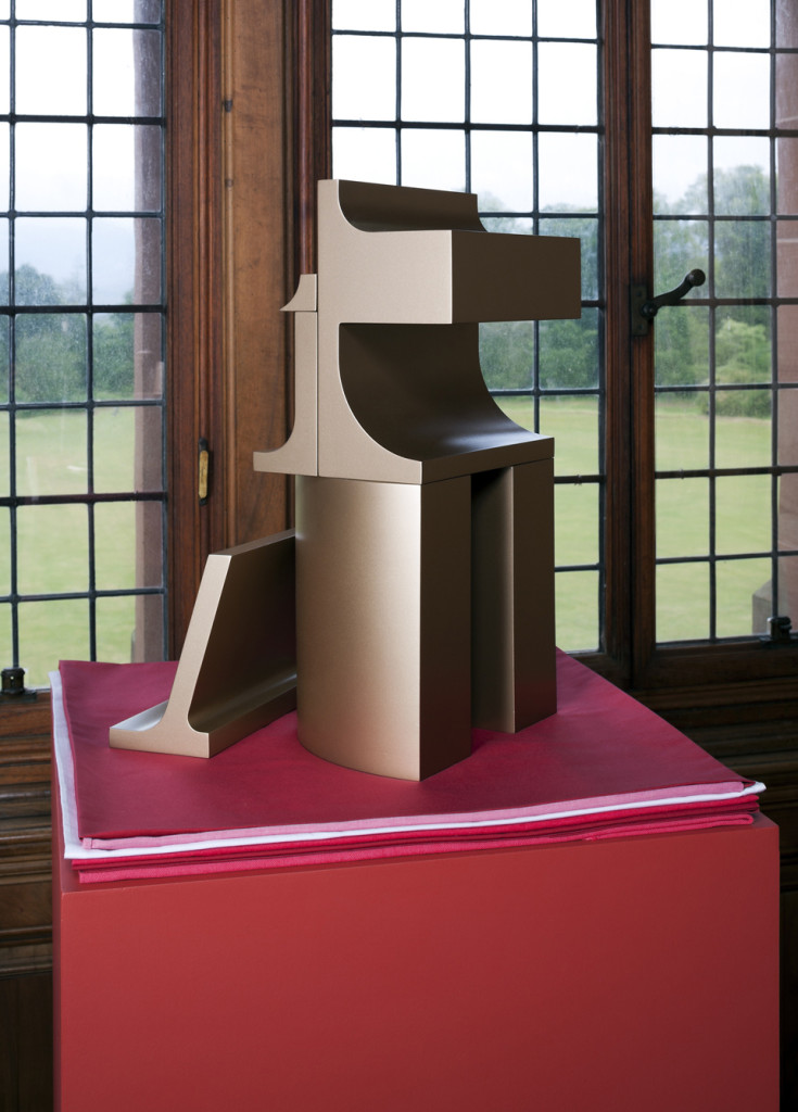 What is the work of love today? (sculpture), 2012, installation view 1 Mount Stuart