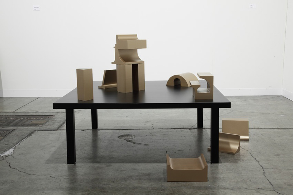 What is the work of love today? (sculpture), 2012, installation view Art Basel Miami
